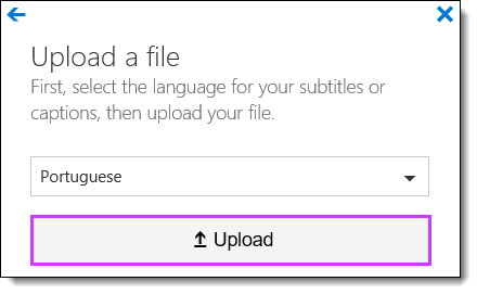 Office 365 Video Upload Subtitles
