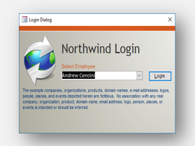 Download Northwind template