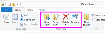 Open the folder where the downloaded file is located.
