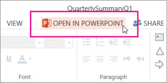 Open in desktop PowerPoint