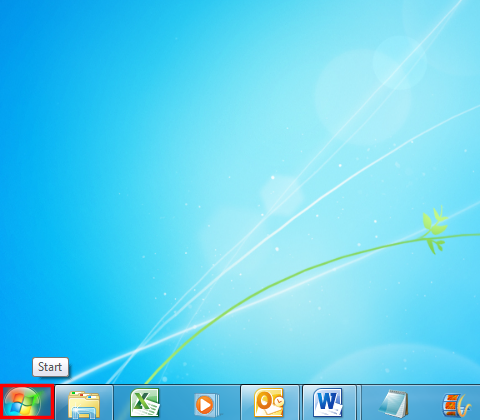 Start by clicking on the Windows icon
