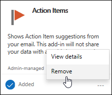 Remove add-in