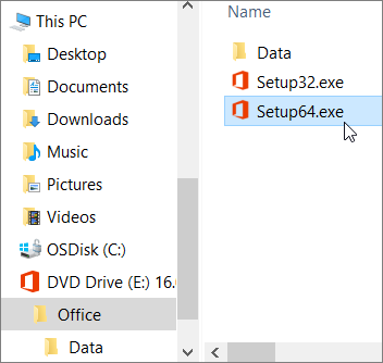 Select the virtual drive which may be named D or the next available letter