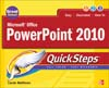Cover of Microsoft Office PowerPoint 2010 QuickSteps