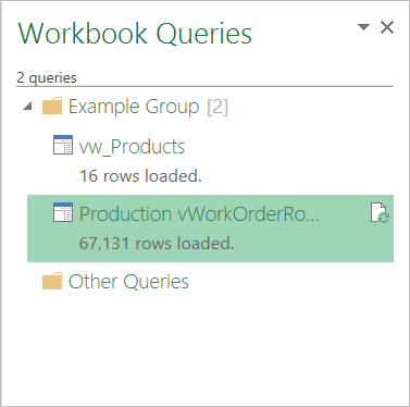 Query group