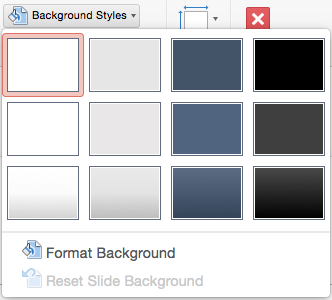 Remove a background graphic or watermark from your slides in powerpoint for mac background style menu toneelgroepblik Image collections