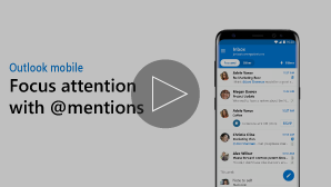 Thumbnail for Focus attention with @mentions video - click to play