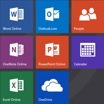 Office.com start screen