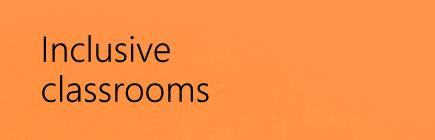 Inclusive classroom courses