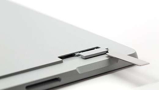 Ejecting the SIM card tray
