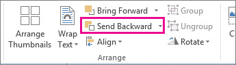Send Backward
