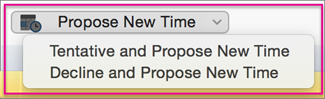 Propose a new time
