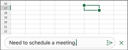 Insert comments and notes in Excel - Office Support