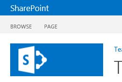 Partial screenshot of SharePoint 2013