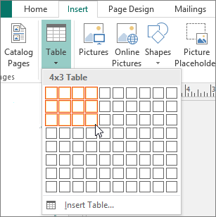 Selecting columns and rows
