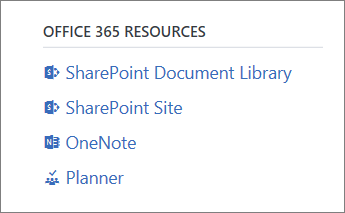 Office 365 Resources