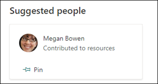 suggested people