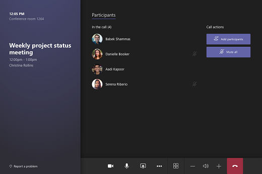 Microsoft Teams Rooms help - Skype for Business