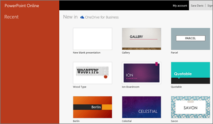 create a presentation in powerpoint online powerpoint