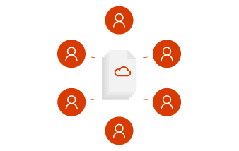 Work as a team in Office 365.