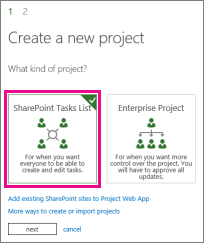 SharePoint Tasks List project