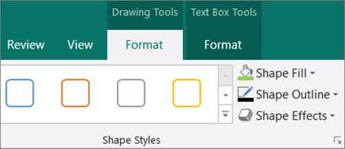Click Shape Fill