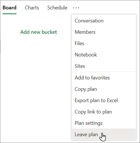 Delete a task or plan - Office Support