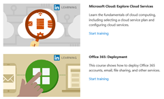 Office 365 admin and IT Pro courses