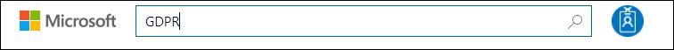 STP Search input, search term GDPR