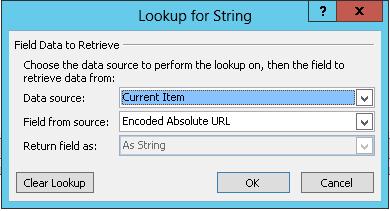 Inserting Hyperlink for Current Item 1