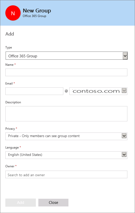 how to create groups in outlook office 365
