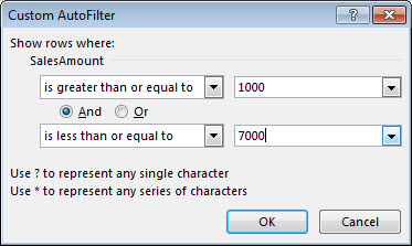 Video: Filter data in a range or table - Excel