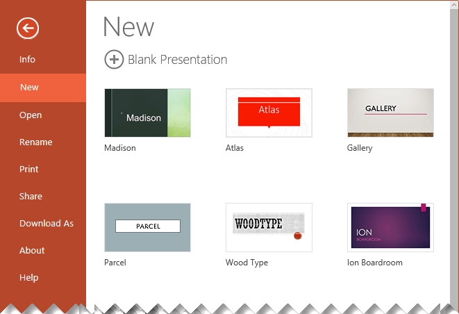 apply a design theme to your presentation in powerpoint for the web