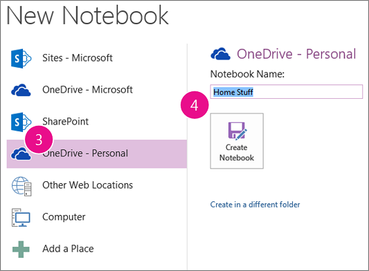 onenote how to open shared notebook