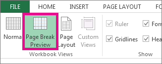 How do i remove a page break in excel for mac 2011