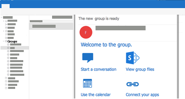 View and read or reply to group conversations in Outlook for Mac