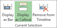 Display as Callout button image