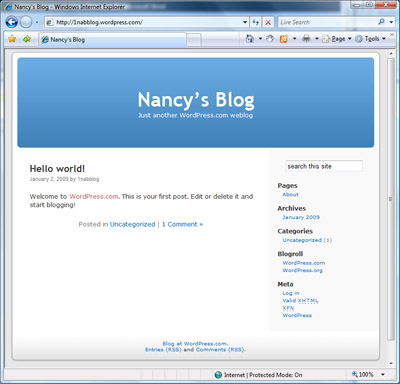 my brand new wordpress.com blog