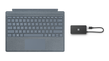 Surface TypeCover and USB Travel Hub photo
