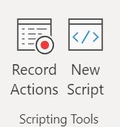 Scripting Tools