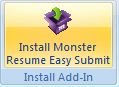 install monster resume easy submit