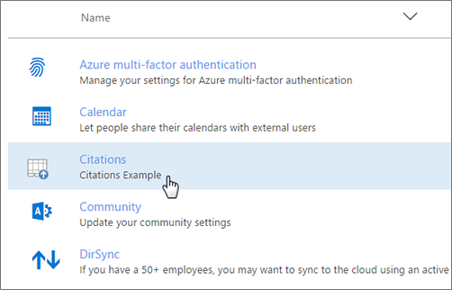Office 365 admin center deployed Add-In