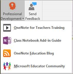 Class Notebook Resources.