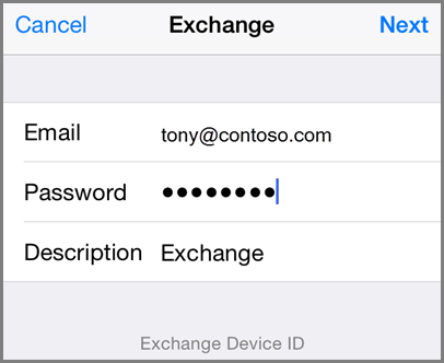 Set up email on Apple iPhone, iPad, and iPod Touch with Office 365 ...