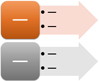 Vertical Arrow List SmartArt graphic layout