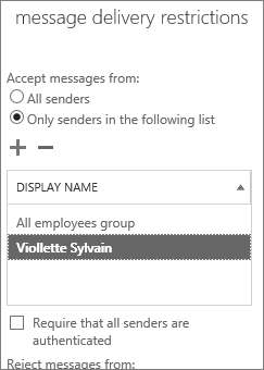 Add an allowed sender in the Admin center to help solve DSN 5.7.136