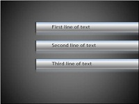 Custom animation effects: rotating tubes with text