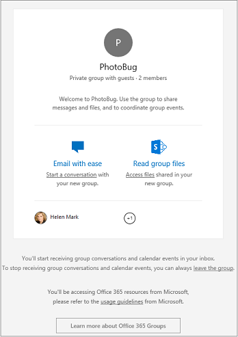 how to add office 365 email to iphone guest access in office 365 groups outlook 5261