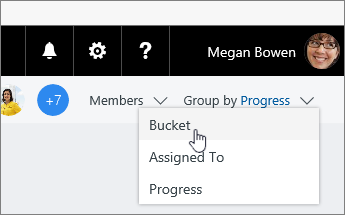 Change group by to bucket