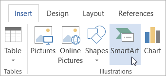 Create a SmartArt graphic - Office Support